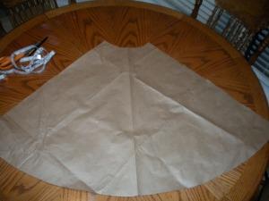 Circle Skirt Pattern Piece